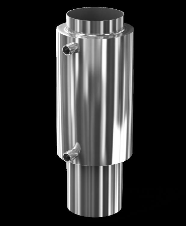 750 теплообменник Кожухотрубный конденсатор Alfa Laval CRF403-6-M 2P Королёв